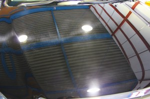 新車なのにキズだらけ|H23年式 トヨタ ハリアー黒 カーコーティング+車磨き全面軽研磨