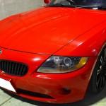 BMW Z4 カーラッピング&ウルトラストロングコート施工例