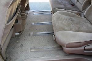 車内丸ごと洗浄 車内クリーニング2