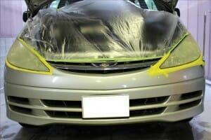 ヘッドライトレンズの黄ばみ・くすみ ヘッドライトクリーン&プロテクト