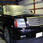H15年式 エスカレード・クリスタルキーパー+車磨き 全面軽研磨
