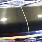 新車へカーコーティング ダイハツムーブ コンテ メタリックブラック