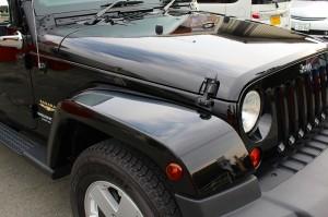 ウルトラストロングコート USC 施工例 Jeep ラングラー 黒 新車 画像2