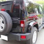 ウルトラストロングコート USC 施工例 Jeep ラングラー 黒 新車 画像4