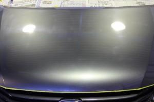 車磨き軽研磨+ポリマーコーティング H20年式オデッセイ