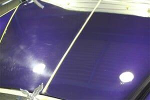 車の鏡面研磨とボディガラスコーティング
