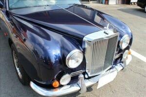 車のボディガラスコーティングと鏡面研磨 H8年式 光岡自動車 我流(ガリュー)