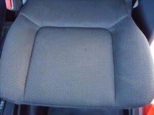 車のシート カビ クリーニング後