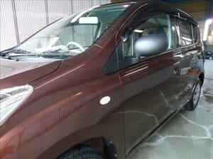 軽自動車へガラスコーティング