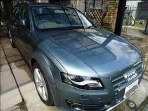 出張洗車 アウディ H23年式 Audi A4 allroad quattro(限定車)