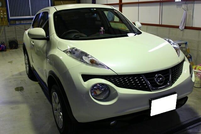 新車コーティング H23年式 日産 JUKE|クリスタルキーパー