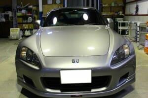 H11年式 ホンダ S2000 シルバー ピュアキーパー ポリマーコーティング