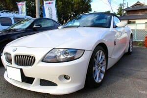 クリスタルキーパー BMW Z4 パールホワイト