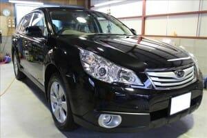 新車コーティングで車の価値を守る アウトバック 黒