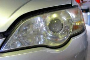 カーコーティング・レンズ黄ばみ取り|熊本スバル自動車様 業販の施工事例