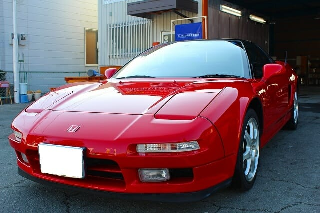 20年前の車が新車のように蘇る!|平成3年式NSX 車のコーティング+車磨き