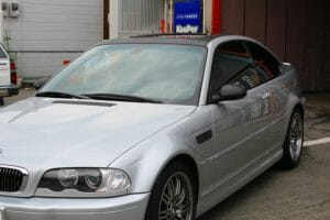 BMW M3 カーラッピング+クリスタルキーパー+全研磨