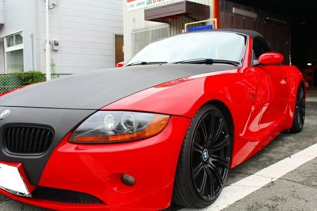 BMW Z4 カーコーティング 施工例