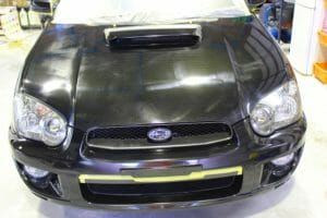 車磨きで塗装の「くすみ」を解決!インプレッサ平成16年式
