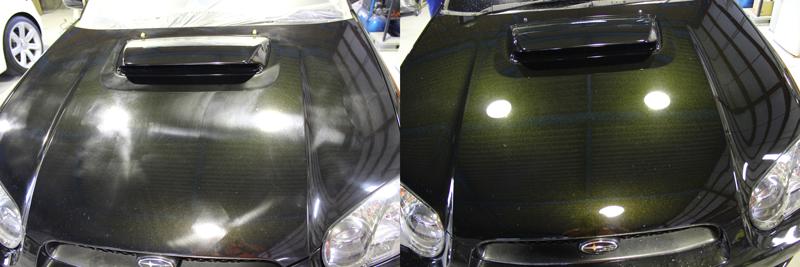 塗装の くすみ 車磨き 研磨