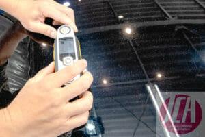 車磨き研磨の仕上がりを数値化 分光色差計