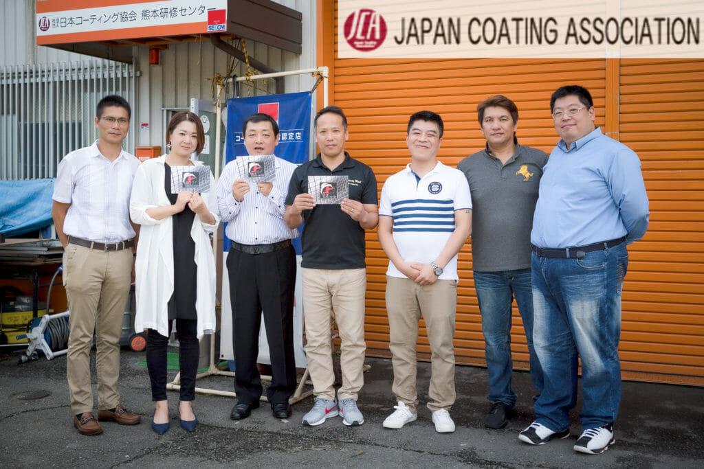 車磨き研磨の評価判定 カーコーティング施工の基礎技術 ついに海外へ!