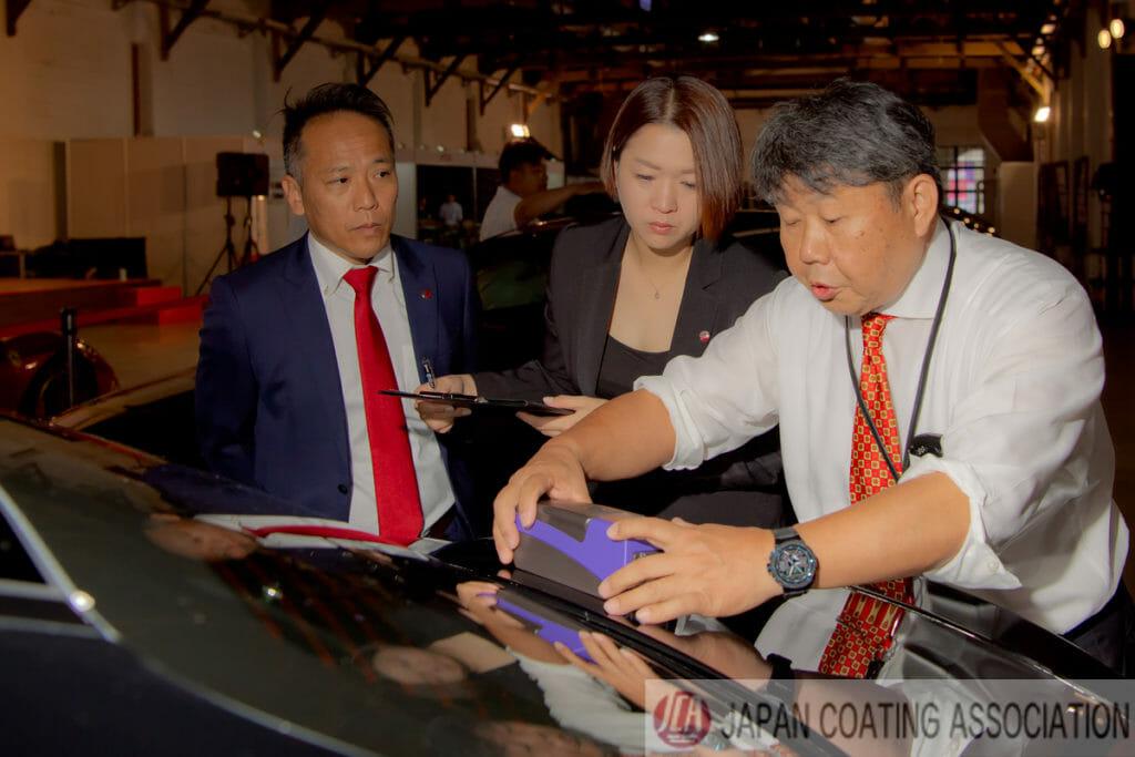 カーコーティング施工の基礎技術(車磨き研磨)を競う 台北in2019亞太汽車美容研磨賽 審査員